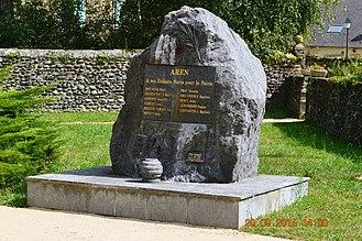 Aren - Aren War Memorial