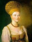 Argunov, Ivan - Peasant Woman in Russian Costume - 1784.jpg