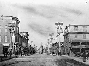 Arnprior - John Street, 1906