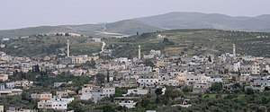 Arraba, Jenin - Northern view of Arraba