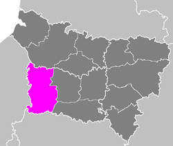 Location of Beauvais in Picardy