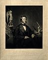 Arthur Hill Hassall. Mezzotint by S. Marks after Mayall. Wellcome V0002611.jpg