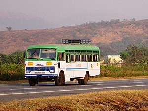 Maharashtra State Road Transport Corporation - Image: Asiad 1