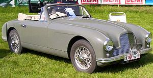Aston Martin DB2 - Image: Aston Martin DB2 Drophead Coupe 1951