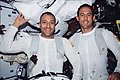 Astronauts James H. Newman and Michael J. Massimino Post-EVA (27990745946).jpg