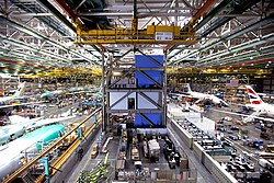 At Boeing's Everett factory near Seattle (9130160595).jpg