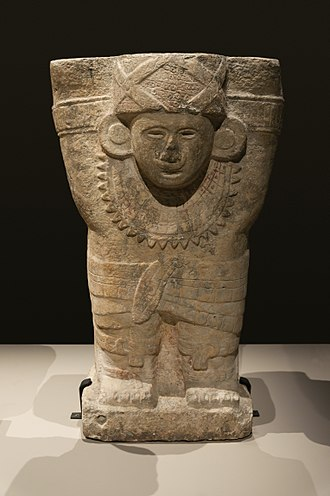 Atlantean figures - Figure from Chichen Itza, dated 900-1250