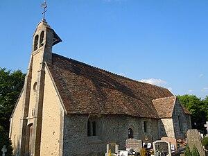 Auberville - Image: Auberville (Église Notre Dame)