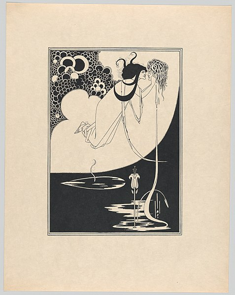 File:Aubrey Beardsley's Illustrations to Salome by Oscar Wilde MET DP863674.jpg