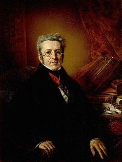 Augustin-Pyramus de Candolle (1778-1841), botaniste genevois, professeur à l'Académie, recteur de 1830 à 1832.jpg