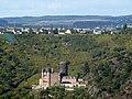 Aussicht vom Loreleyblick Maria Ruh auf Burg Katz vor Patersberg - panoramio.jpg
