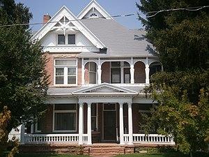 National Register of Historic Places listings in Wasatch County, Utah - Image: Austin Wherritt House Heber Utah