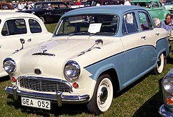 Austin A55 Cambridge De Luxe Mark I (1957)