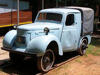 Railway Museum Mysore - Austin Rail Car