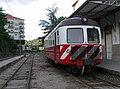 Automotora da Série 9100 dos Caminhos de Ferro Portugueses na Estação de Amarante.jpg