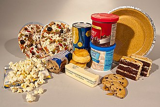 Trans fat - An example of trans fat provided by the FDA.