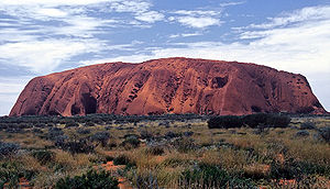 The Amazing Race Australia 3 - The starting line for The Amazing Race Australia v New Zealand takes place near Uluru (also known as Ayers Rock) in Uluṟu-Kata Tjuṯa National Park.