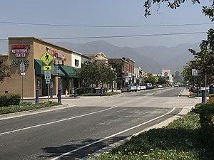 Azusa, California - Downtown Azusa