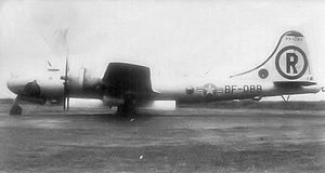 Strategic Air Command in the United Kingdom - Bell-Atlanta B-29-60-BA Superfortress serial 44-84088 assigned to the 718th Bomb Squadron (28th BW) at RAF Scampton, 1948