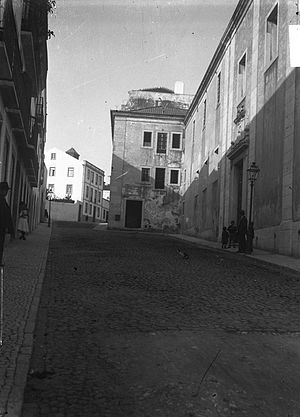 Monastery of the Mónicas - A view of the former-Monastery and prison establishment of Lisbon.