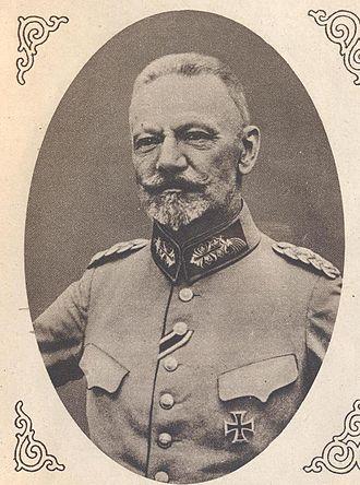 Max von Gallwitz - Max von Gallwitz, 1915