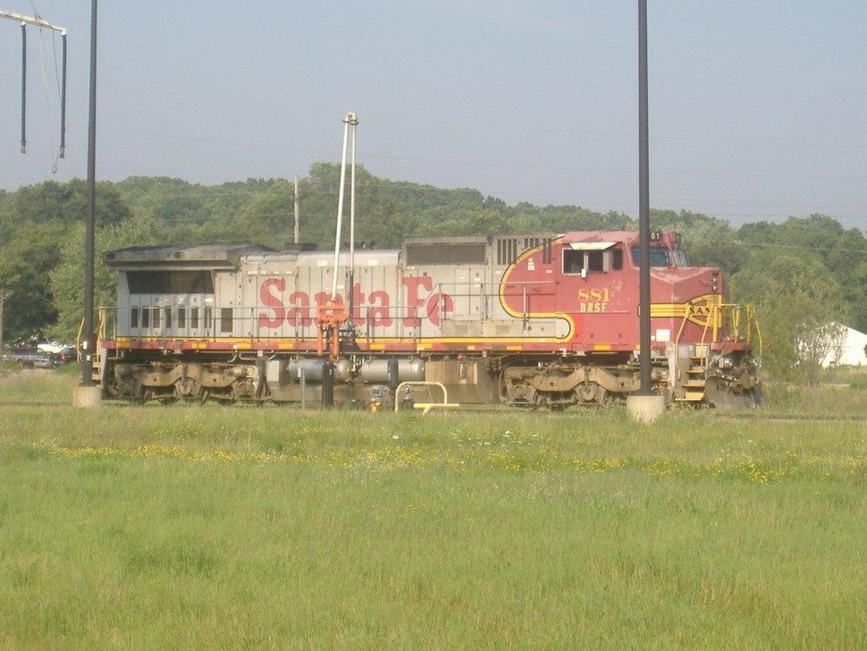 BNSF Loco No.881 Ex-Santa Fe