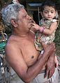 Baby carrying Tamil Nadu state, India 1.jpg