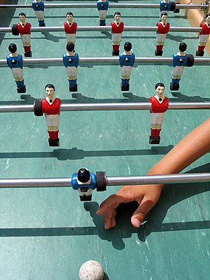 Table football - Table football (Bonzini style table)