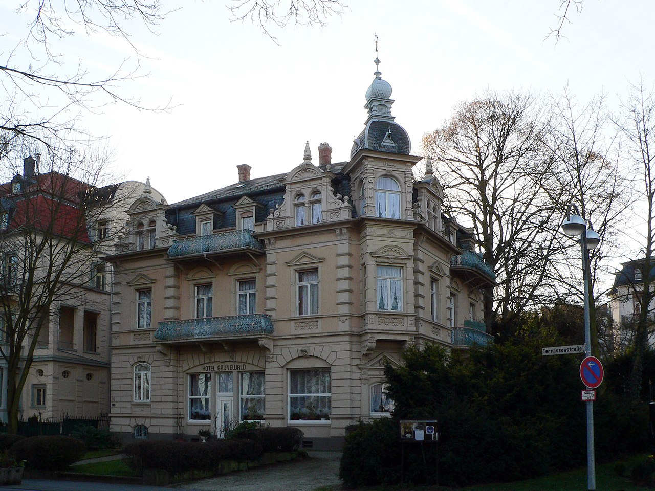 Hotel Villa Grunewald Terrassenstra Ef Bf Bde   Bad Nauheim
