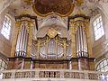 Bad Staffelstein Basilika Vierzehnheiligen Innen Orgel 2.JPG