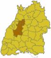 Baden Wuerttemberg Region Nordschwarzwald.png