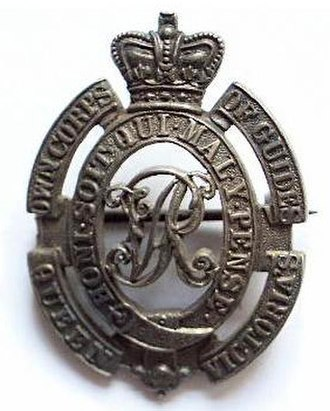 Guides Cavalry - Image: Badge of Corps of Guides