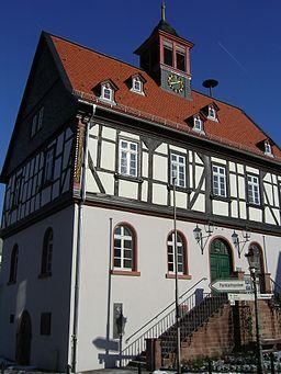 Altes Rathaus in de:Bad Vilbel selbst fotografiert Cmdr