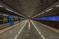 Bagarmossen metro station January 2015 01.jpg