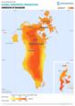 Bahrain GHI Solar-resource-map GlobalSolarAtlas World-Bank-Esmap-Solargis.png
