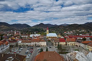 Nagybánya: Baia Mare - The city seen from Stephens Tower