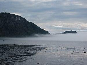Saint-Fabien, Quebec - Baie du Ha! Ha! in Bic National Park