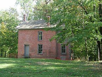 Joseph Bailly Homestead - Bailly Brickhouse on the southwest edge of the Homestead.