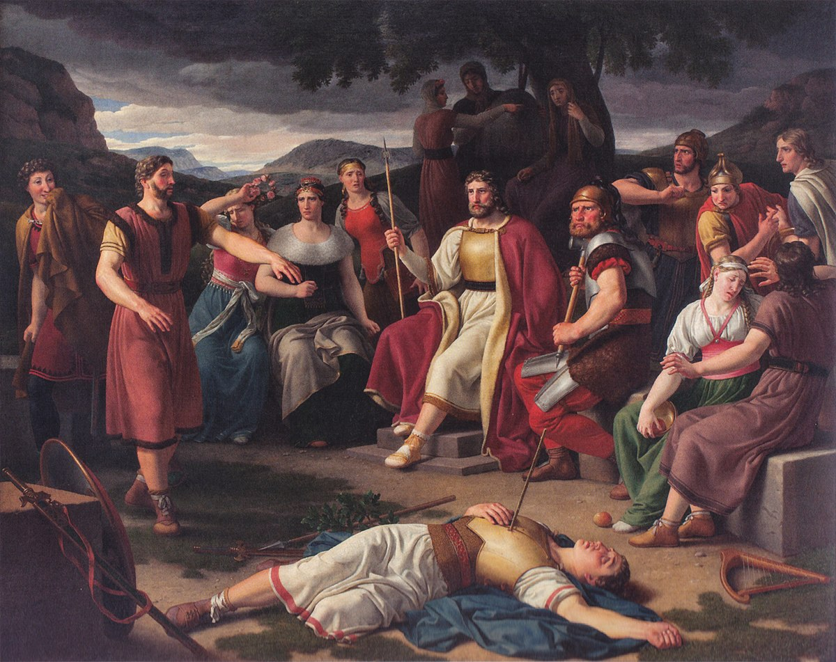 Image of Loki Hodr murdered God Baldur the Death of Baldur