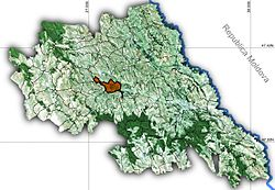 Vị trí của Bălțați