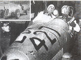Bandini 1100 siluro - The start of the 1949 Mille Miglia