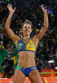 Bárbara Seixas Brazilian beach volleyball player