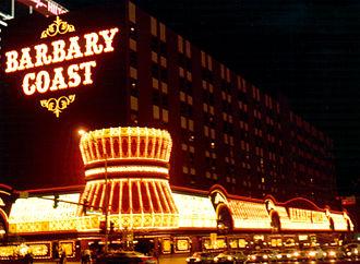 The Cromwell Las Vegas - Image: Barbary coast 1983