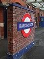 Barkingside station roundel2.JPG