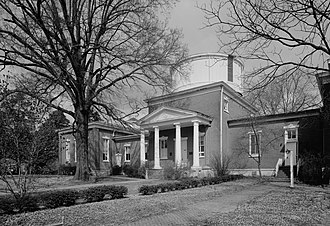 National Register of Historic Places listings in Lafayette County, Mississippi - Image: Barnard Observatory