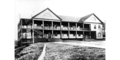 Barracks at Fort Townsend, Washington, approximately 1885.png