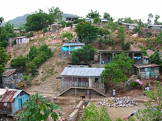 Structural violence in Haiti - Slums in the area of Bas-Ravine, in the northern part of Cap-Haïtien