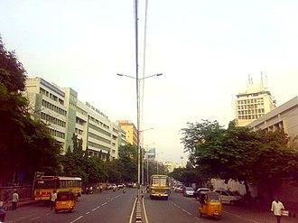 Basheerbagh - Basheerbagh main road