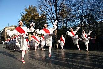 Sword dance - Basque Sword Dance