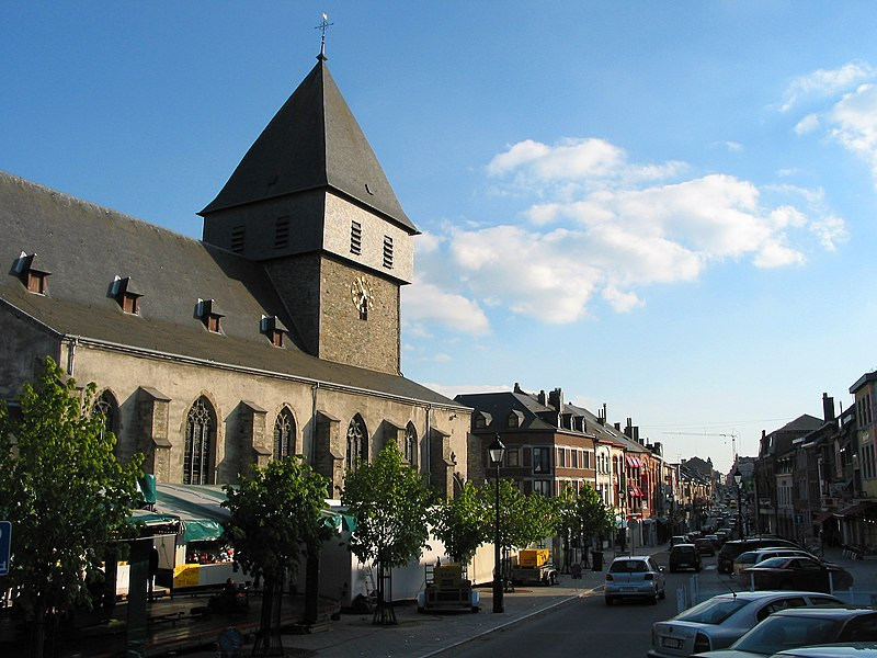 Bastogne, Belgium: St Peter's church (11th–16th centuries).